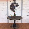 DONOMA étkezőasztal, Bútor, Dekoráció, Otthon, lakberendezés, Asztal, Indusztriális kerek étkezőasztal  Asztallap átmérő 110cm, magasság 75 cm  Méret és szín ig..., Meska