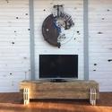 TUWA TV állvány vagy pad, Bútor, Dekoráció, Otthon, lakberendezés, Pad, Famegmunkálás, Fémmegmunkálás, Méret: 150 cm széles, 35 cm magas, 40 cm mély  Méret és szín igény szerint változtatható, Meska