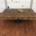HONOVI dohányzóasztal, Bútor, Dekoráció, Otthon, lakberendezés, Asztal, Eladó indusztriális dohányzóasztal.  124x74x35 cm  Méret és szín igény szerint változtathat..., Meska