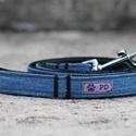 """Farmer póráz , Állatfelszerelések, Kutyafelszerelés, Varrás, A PurpleTurtleBag """"kistestvéreként"""" létrejött a Purple Dog márka, aminek a keretein belül egyedi pó..., Meska"""