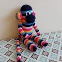 Zokni maki, Játék, Fajáték, Plüssállat, rongyjáték, Játékfigura, Baba-és bábkészítés, Varrás, Zokni maki  Zokniból készült majom masnival és tüll szoknyával.  Puha ölelni való társ vagyok, hoss..., Meska