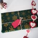 65x65cm Környezetbarát Zero Waste karácsonyi textil ajándék csomagoló, Otthon & lakás, NoWaste, Textilek, Dekoráció, Textil csomagolóanyag - Karácsonyi  Manapsag egyre inkabb terjed a zero waste termekek hasznalata, e..., Meska