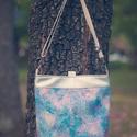 3:1 táska/hátizsák, Táska, Divat & Szépség, Táska, Hátizsák, Válltáska, oldaltáska, Varrás, Ezüst színű textilbőrből és amerikai designer pamutvászonból készült táska, mely háton is hordható...., Meska
