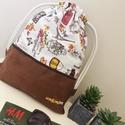 Walkingbag tower, Táska, Hátizsák, Varrás, Csomózás, Strapabíró, könnyen tisztítható noi hátizsák. Tökéletes kiránduláshoz, fesztiválra, utazáshoz, játs..., Meska
