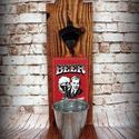 """Fali sör nyitó """" Beer hobby"""", Férfiaknak, Sör, bor, pálinka, Nosztalgikus vintage hangulat pasiknak! Erre a sörnyitó alkalmatosságra minden haverod felfigyel maj..., Meska"""