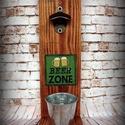 """Fali sör nyitó """" Beer zone"""", Férfiaknak, Sör, bor, pálinka, Nosztalgikus vintage hangulat pasiknak! Erre a sörnyitó alkalmatosságra minden haverod felfigyel maj..., Meska"""