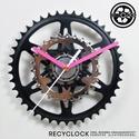 recyclock CWB-024 - falióra újrahasznosított kerékpár alkatrészből, Férfiaknak, Otthon, lakberendezés, Falióra, óra, Bringás kiegészítők, Egyedi, kerékpár alkatrészekből készített falióra.  A CWB sorozat órái elsősorban a kerék..., Meska