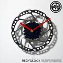 recyclock DSC-013- falióra újrahasznosított kerékpár alkatrészből, Férfiaknak, Otthon, lakberendezés, Falióra, óra, Bringás kiegészítők, Egyedi, kerékpár alkatrészekből készített falióra.  A DSC sorozat órái elsősorban a kerék..., Meska
