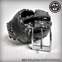 recyBELT-001 öv újrahasznosított kerékpár külsőből, Férfiaknak, Bringás kiegészítők, Öv, övcsat, Kerékpár külső gumiból készült öv. A használt kerékpárgumi többszöri gondos mosás utá..., Meska