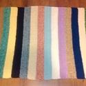 Horgolt csíkos szőnyeg, Otthon, lakberendezés, Baba-mama-gyerek, Lakástextil, Szőnyeg, Horgolás, Horgolt csíkos szőnyeg 190x95 méretben. Kevert fonálból készült., Meska