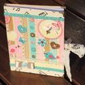 Vidám napló, madárkákkal. :-), Naptár, képeslap, album, Baba-mama-gyerek, Jegyzetfüzet, napló, Gyerekszoba, Decoupage, transzfer és szalvétatechnika, Festett tárgyak, Ezt a naplót vidám színekkel és madárkákkal készítettem el. :-)  Kb. 85 lap/170 oldal vár arra, hog..., Meska
