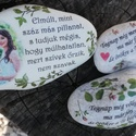 Fényképes és feliratos kő szett, személyre szabottan. :-), Esküvő, Baba-mama-gyerek, Kedves kövek fotóval vagy felirattal, ahogyan Te szeretnéd. :-)  Enyhén nedves ruhával tisztítható. ..., Meska