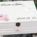 Minőségi, egyedi, lezárható, feliratozott esküvői pénzgyűjtő persely. :-), Minőségi, asztalosom által készített, erős f...