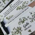 Köszönő ajándék az apukáknak, anyukáknak, személyre szabottan. :-), Kalapácsra írt üzenet az apukáknak. :-) A fa t...