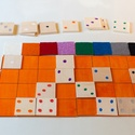 Szín-szám társasjáték, Baba-mama-gyerek, Játék, Fajáték, Készségfejlesztő játék, Készségfejlesztő játék a legkisebbek számára is!  Párosítsd a színeket és a számokat., Meska