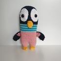 """Frappé a pingvin, Baba-mama-gyerek, Játék, Baba játék, Játékfigura, Frappé volt a főszereplő jelölt a """"Madagaszkár pingvinjei"""" válogatáson. Viszont a színes szmokingja ..., Meska"""