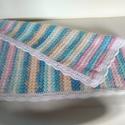 babatakaró, Baba-mama-gyerek, Baba-mama kellék, Horgolás, Alize Bebe Batik fonalból készült ez a szép babatakaró. 40 fokon mosható, kiterítve szárítható. Ide..., Meska
