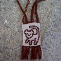 Oroszlános kulcstartó, Dekoráció, A kis oroszlánkirály emblémájával díszített kulcstartó. Méretei: kb. 3×4 cm Más színekke..., Meska