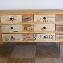 DIY 6 fiókos szekrény 100% kézimunka, Bútor, Szekrény, Famegmunkálás, Szélesség (cm): 100  Mélység (cm): 50  Magasság (cm): 58  Fiókok száma: 6  Anyaga: fa, fém  Állapot..., Meska