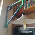 """Szovjet """" Fecske """" kerékpár fali lámpa, Otthon, lakberendezés, Férfiaknak, Lámpa, Fali-, mennyezeti lámpa, Izzó típusa: Edison Lámpák száma: 1 db  Foglalat típusa: E27  Típusa: falon kívüli  Állapot: új     ..., Meska"""