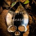 Coffee please kiskanál, Férfiaknak, Konyhafőnök kellékei, Vőlegényes, Sör, bor, pálinka, Fémmegmunkálás, Kézi gravírozott kiskanál. Anyaga: rozsdamentes acél, Meska
