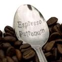 Espresso Patronum kiskanál, Otthon & lakás, Férfiaknak, Konyhafelszerelés, Bögre, csésze, Konyhafőnök kellékei, Kézi gravírozott kiskanál. Anyaga: rozsdamentes acél  Tedd egyedivé! A kanál nyelére név, vagy évszá..., Meska