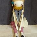 RezedaRozi Szöszi baba játékbaba öltöztethető textilbaba egyedi doll clothdoll, Játék, Baba, babaház, Játékfigura, Plüssállat, rongyjáték, Baba-és bábkészítés, Varrás, Saját szabásminta alapján készített, egyedi, öltöztethető tini lányka stílusú textil baba.  - a bab..., Meska