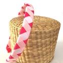 Cikk-cakkos hajpánt (rózsaszín), Ezt az aranyos hajpántot 4 különböző színű ...