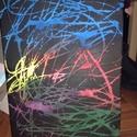 Első Látomás, Dekoráció, Képzőművészet, Kép, Festmény, Akril festékkel készült alkotás.  Méret: 30cm x 40cm, Meska