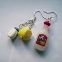 Tequila Fülbevaló , Tequila Fülbevaló természetesen citrommal és s...