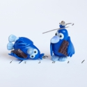 Gombóc Artúr fülbevaló, A jól ismert dagi madárka, most fülbevalóban k...