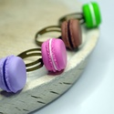 Macaron gyűrű, Ékszer, Mindenmás, Fülbevaló, Egy élénk macaron gyűrű remek kiegészítő lehet bármilyen alkalomra! Színes, vidám, édes és garantált..., Meska