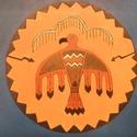 Viharmadár by Made in Spirit, Képzőművészet, Festmény, Akril, Festészet, (Egy hétvégi vásáron elkelt, ha szeretnél festek Neked hasonlót, akár más színű háttérrel. :)  Fesz..., Meska