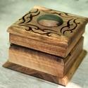 Gyűrűtartó doboz - Hera, Ékszer, Ékszertartó, A terjedelmes és meglehetősen nyilvánvaló hagyományos gyűrűdoboz már régóta esedékes az újratervezés..., Meska