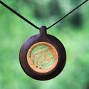 Fa ékszerek - Annabell, Gyönyörű, egyedi, kézzel gyártott fa ékszere...