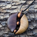 Fa ékszer - Arianna,  Gyönyörű, egyedi, kézzel gyártott fa ékszer...