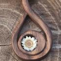 Fa ékszer, medál - New Life, Gyönyörű, egyedi, kézzel gyártott fa ékszere...