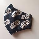 Star Wars   /arcmaszk  ( felnőtt méret), Arcmaszk star wars mintás anyagból fekete bélé...