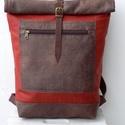 Terrakotta-barna hátizsák