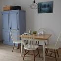 Provence-i festett szekrény-tetszőleges színben, Bútor, Szekrény, Festett tárgyak, A képen látható szekrény elkelt, de mindig vannak alapanyagban hasonló szekrényeim, ezért kérlek be..., Meska