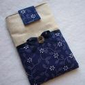 Mobiltok, tolltartó, zsebkendőtartó..., Puha vászon anyagokból készült vatelin bélés...