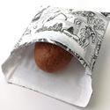 1 db képregényes snackbag, tépőzáras uzsitasak, vízhatlan szendvicstartó, uzsonnás tasak, szendvics tartó újraszalvéta, Ez az aranyos uzsitasak az egyszer használatos sz...