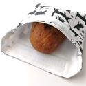 1 db cicás snackbag, tépőzáras szendvics csomagoló - vízhatlan uzsonnás tasak, szendvics csomagoló, újraszalvéta, Ez az aranyos szendvics csomagoló uzsitasak az eg...