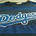 Dodgers kézzel festett férfi póló - L (Jack and Jones), Ruha, divat, cipő, Férfiaknak, Férfi ruha, Los Angeles Dodgers férfi póló   Póló márkája: Jack&Jones Core Fazon: normál Szín: kék/sö..., Meska