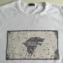 Game of Thrones kézzel festett férfi póló - XL (intimissimi), Férfiaknak, Ruha, divat, cipő, Képzőművészet, Férfi ruha, Game of Thrones/Trónok harca kézzel festett férfi póló   Póló márkája: intimissimi Fazon: s..., Meska