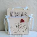 Esküvői dísztasak ajándékhoz, borítékhoz , Esküvő, Esküvői dekoráció, Meghívó, ültetőkártya, köszönőajándék, Nászajándék, Egyedi fa dísztasak esküvőre pénzátadáshoz, kisebb ajándékokhoz, jókívánságokhoz, mely örök emlék ma..., Meska