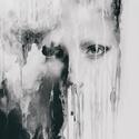 """Tükröd leszek, Dekoráció, Képzőművészet, Kép, Napi festmény, kép, Festészet, Festett tárgyak, """"Tükröd leszek,hogy lásd ki vagy, ha nem látnád"""" /J. Morrison/  Feszített vászonra festett arckép.T..., Meska"""