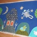 """""""Jó éjszakát!"""" falikép 140 x 60 cm, Ez a faliképem Judit kérésére egy esti mesevil..."""