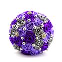 'SATIN RIBBON ROSES' csokor KÖZEPES, Otthon & lakás, Esküvő, Dekoráció, Csokor, Esküvői csokor, Virágkötés, Az örökcsokor kitűnő választás minden alkalomra, egyedi és maradandó kézműves ajándék. Adható szüle..., Meska