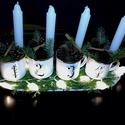 Karácsonyi bögrék, Dekoráció, Konyhafelszerelés, Otthon, lakberendezés, Bögre, csésze,  Karácsonyra, Születésnapra vagy bármilyen ünnepre rendelhető bögrék. 3 dl-es bádog , azaz zománc re..., Meska